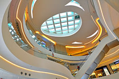 Hysan place shopping mall interior, hong kong Royalty Free Stock Images