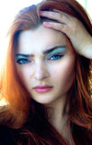 Hysterique de la couleur Photographie stock
