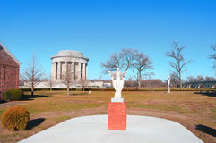 George Rogers Clark national historic park in Vincennes Indiana Royalty Free Stock Image
