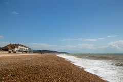Hythe Beach, Uk, Kent Stock Photography