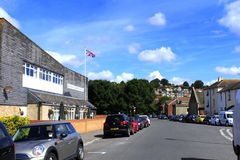 Hythe England United Kingdom. Street view from Hythe town on nice summer day Kent England UK Royalty Free Stock Photography