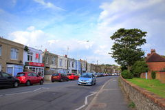 Hythe England United Kingdom. Street view from Hythe town on nice summer day Kent England UK Stock Photo