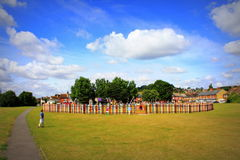 Hythe The Green view Kent England Stock Photo