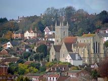 Hythe Kent de la iglesia de St Leonards Foto de archivo libre de regalías