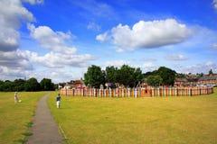 Hythe la vue verte Kent England Images libres de droits