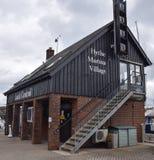 Hythe Marina Lock Control royalty-vrije stock foto's