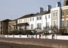 Hythe seafront kent Royalty Free Stock Images