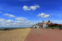 Hythe seafront scenic view Kent UK Stock Images
