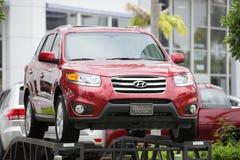 Hyundai 2012 Santa Fe SUV Photo libre de droits