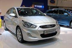 Hyundai Accent Stock Photography