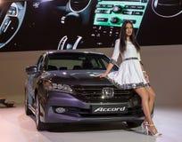 Hyundai Accord Royalty Free Stock Photography