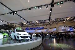 Hyundai-Ausstellung bei Autoshow 2010 Lizenzfreie Stockfotografie
