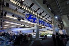 Hyundai-Ausstellung bei Autoshow 2010 Stockbild