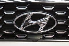 Hyundai-auto royalty-vrije stock afbeelding