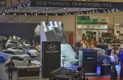 Hyundai booth at International Motor Show Royalty Free Stock Image