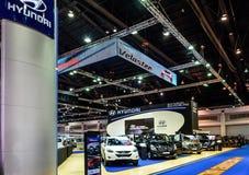 The Hyundai booth at The 36th Bangkok International Motor Show  Royalty Free Stock Photography