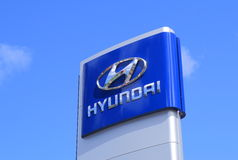 Hyundai Royalty Free Stock Photo