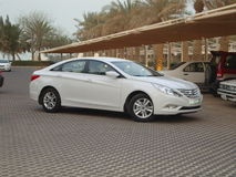Hyundai car Stock Image