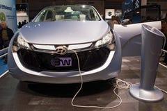 Hyundai Concept Electric mode Royalty Free Stock Photos