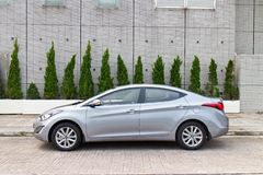 Hyundai Elantra 2014 Royalty Free Stock Photography