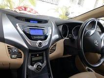 Hyundai Elantra. Lets race! Hyundai Elantra 2014 Royalty Free Stock Photography