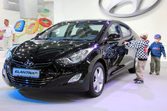 Hyundai Elantra MD Royalty Free Stock Photos