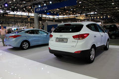 Hyundai Elantra MD and Hyundai ix35 Stock Photo
