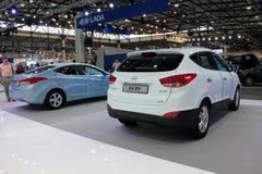 Hyundai Elantra MD and Hyundai ix35 Stock Photos