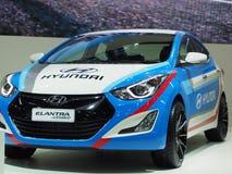 Hyundai Elantra sportów pojęcie przy 36th Bangkok Międzynarodowym Motorowym przedstawieniem Fotografia Stock