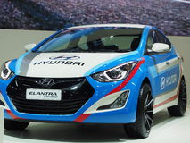 Hyundai Elantra Sports Concept at the 36th Bangkok International Motor Show Stock Photography