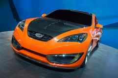 Hyundai-Entstehungsgeschichte-Kupee-Konzept Lizenzfreie Stockfotos