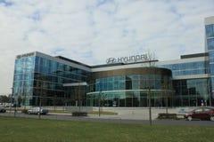 Hyundai Europa grund Arkivbilder
