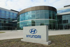 Hyundai europe Royalty Free Stock Photography