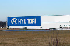 Hyundai factory in Montgomery, Alabama Stock Photo