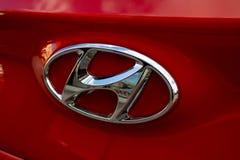 Hyundai gallerprydnad arkivfoto