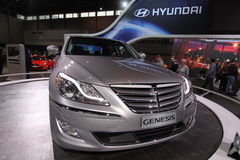 Hyundai Genesis 2011 Royalty Free Stock Photography
