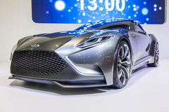 Hyundai Genesis Coupe, HND-9 Venace Concept Royalty Free Stock Photography