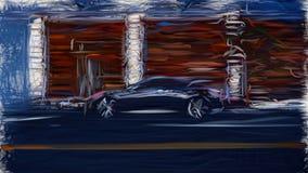 2013 Hyundai Genesis Coupe ID 7698 royalty ilustracja