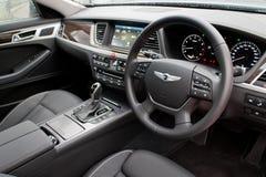Hyundai GENESIS 2015 interior Royalty Free Stock Image