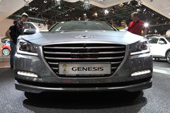Hyundai Genesis Luxury Car Arkivfoto