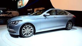 Hyundai Genesis luxury sedan stock footage
