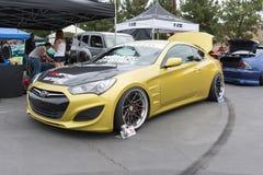 Hyundai genezy Coupe Zdjęcie Stock