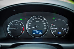 Hyundai Grand Starex Dashboard Royalty Free Stock Photo