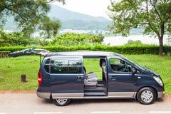 Hyundai Grand Starex Drive Day Stock Image