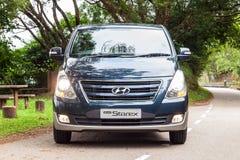 Hyundai Grand Starex Drive Day Stock Photo