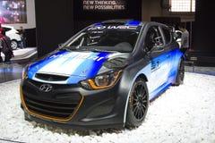 Hyundai i20 Royalty Free Stock Photography