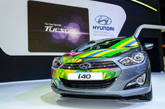Hyundai i40 Brazil Edition Skin. Stock Photos
