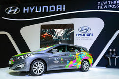 Hyundai i40 Brazil Edition Skin. Royalty Free Stock Images