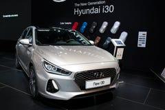 Hyundai i30 car Stock Photo