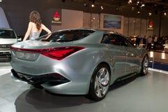Hyundai i-Flow concept car Royalty Free Stock Photography